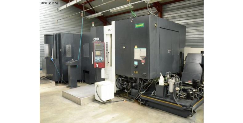 Horizontal Machining Center Okk Hp400 10154 Used Machine