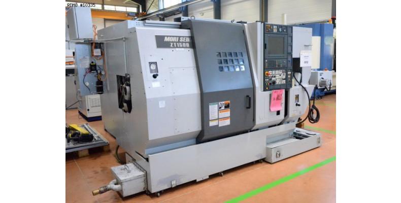 CNC lathe Mori Seiki ZT 1500 Y 8 axes (10335) Used Machine tools | Rdmo
