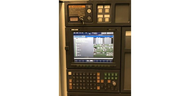 Vertical machining center Mori Seiki NV5000 alpha 1B/40 5 axes ...