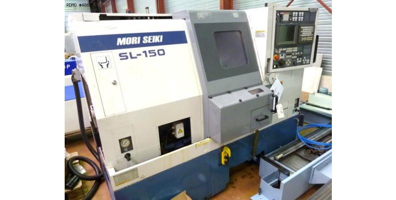 CNC lathe Mori Seiki SL 150 MC 3 axes (4865) Used Machine