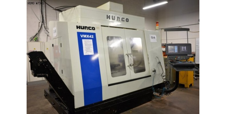 Vertical machining center Hurco VMX 42 4 axes (7341) Used