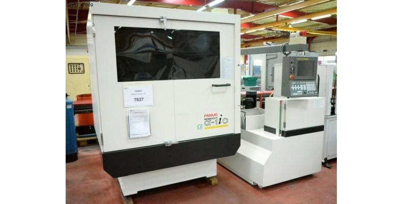 Wire erosion Fanuc Robocut Alpha 1-iC 5 axes (7809) Used Machine ...